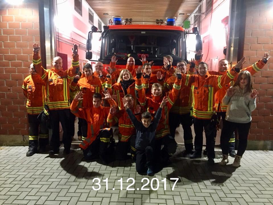 Jahreswechsel bei der Feuerwehr Melverode | Foto: Feuerwehr Melverode