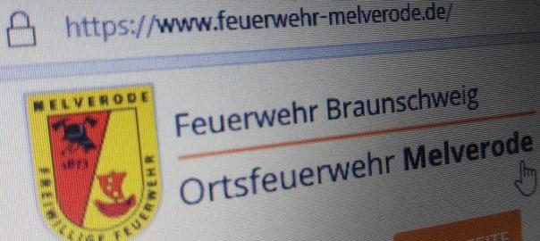 Seit 1. April 2018 online, die neue Internetseite der Ortsfeuerwehr Melverode | Foto: Marcel Kermer