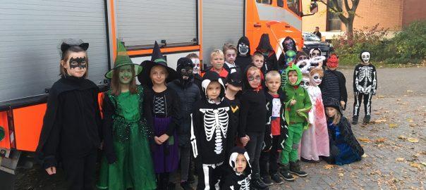 Halloween-Party der Kinderfeuerwehr Melverode | Foto: Jörn Gerlach