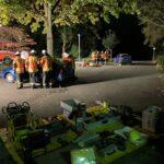 Ausbildung Technische Hilfeleistung in 2 Gruppen an 2 Fahrzeugen